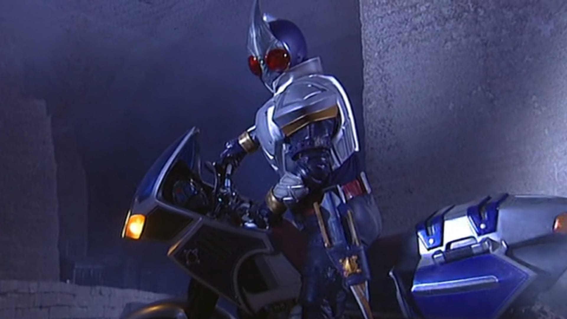 Kamen Rider Season 14 :Episode 1  The Indigo Warrior