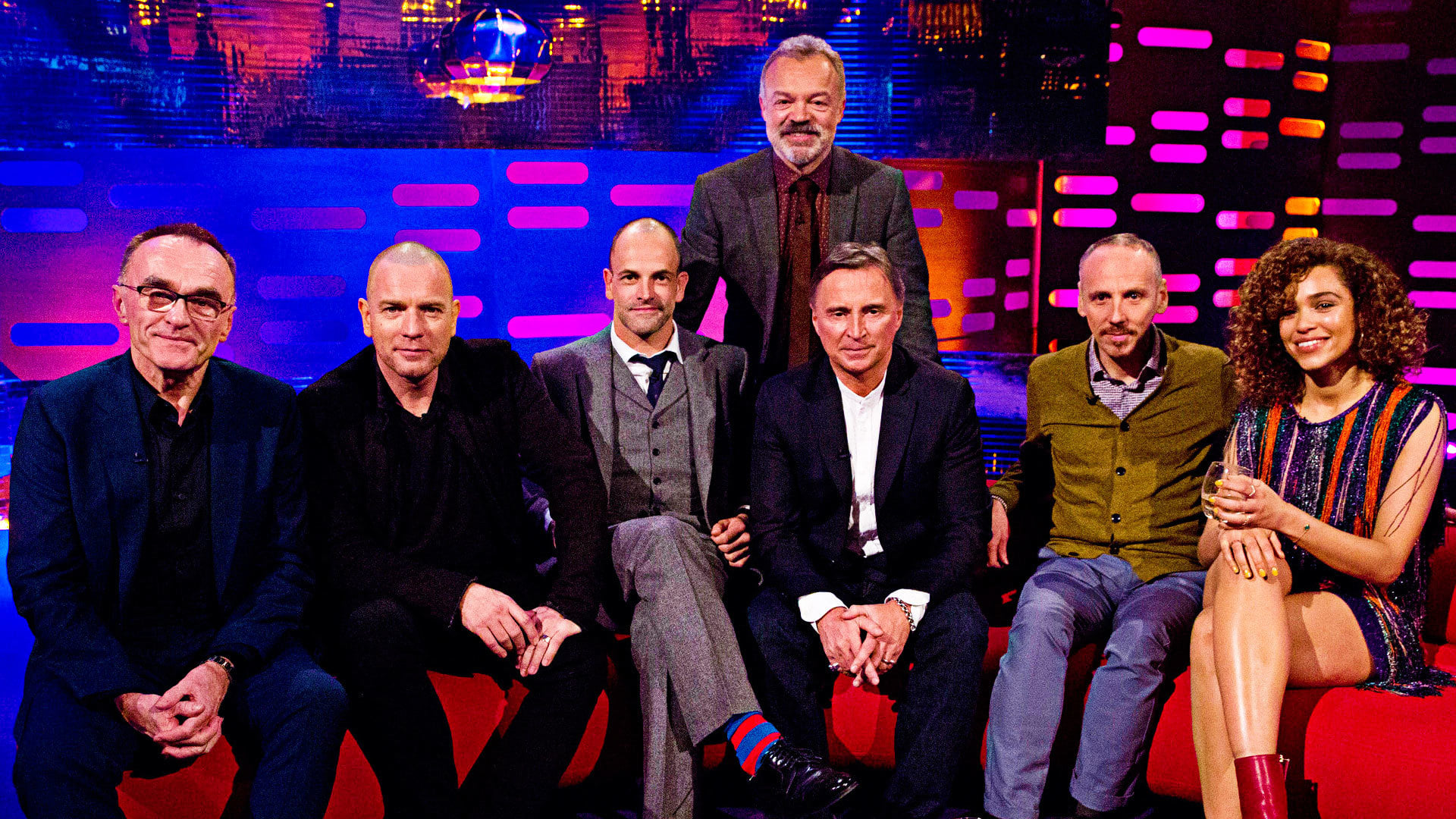 The Graham Norton Show Season 20 :Episode 15  Danny Boyle, Ewan McGregor, Jonny Lee Miller, Robert Carlyle, Ewen Bremner and Izzy Bizu