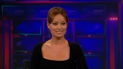 The Daily Show with Trevor Noah Season 17 :Episode 156  Olivia Wilde