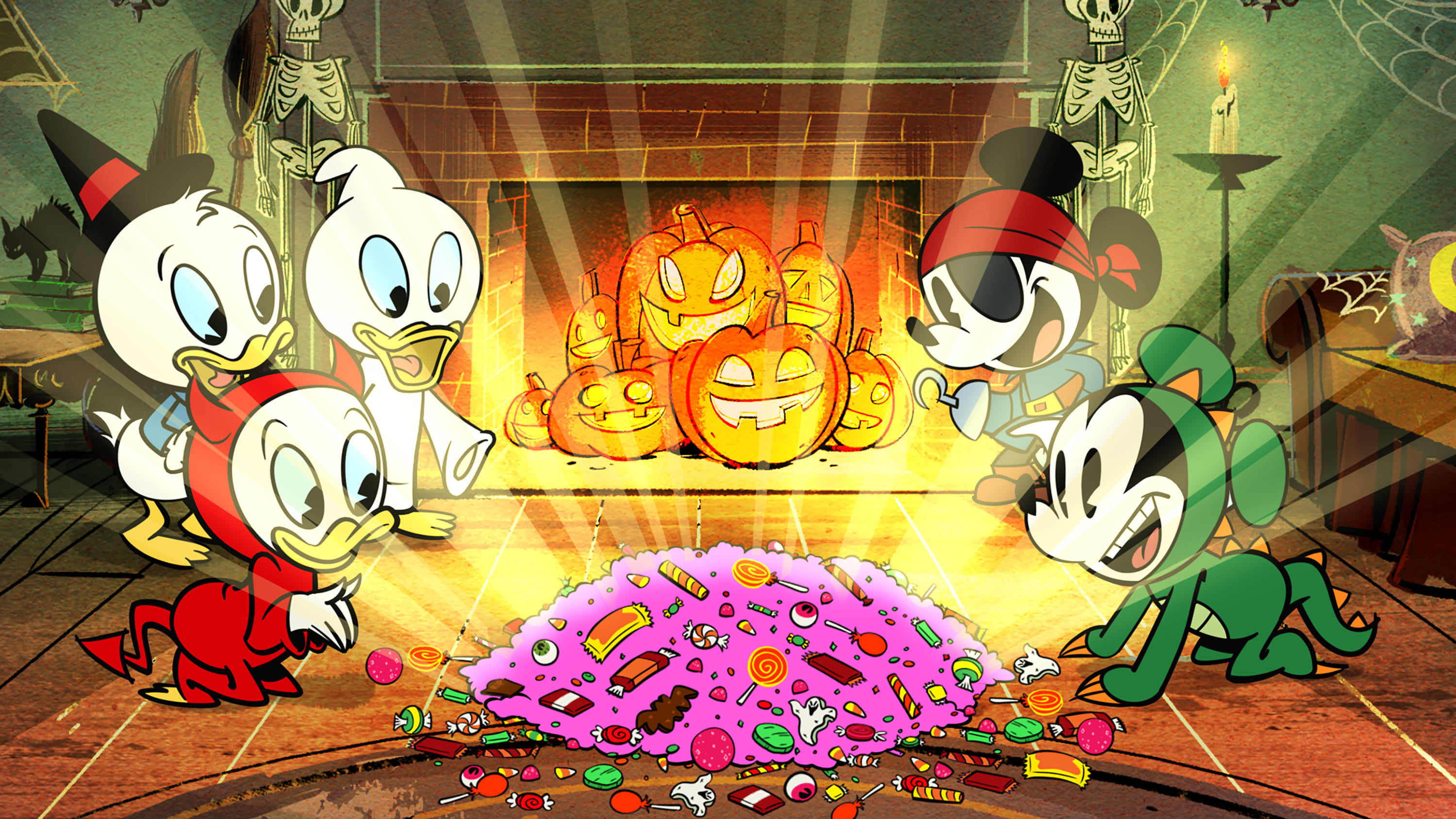 Halloween Spooktacular Movie.Mickey Mouse The Scariest Story Ever A Mickey Mouse
