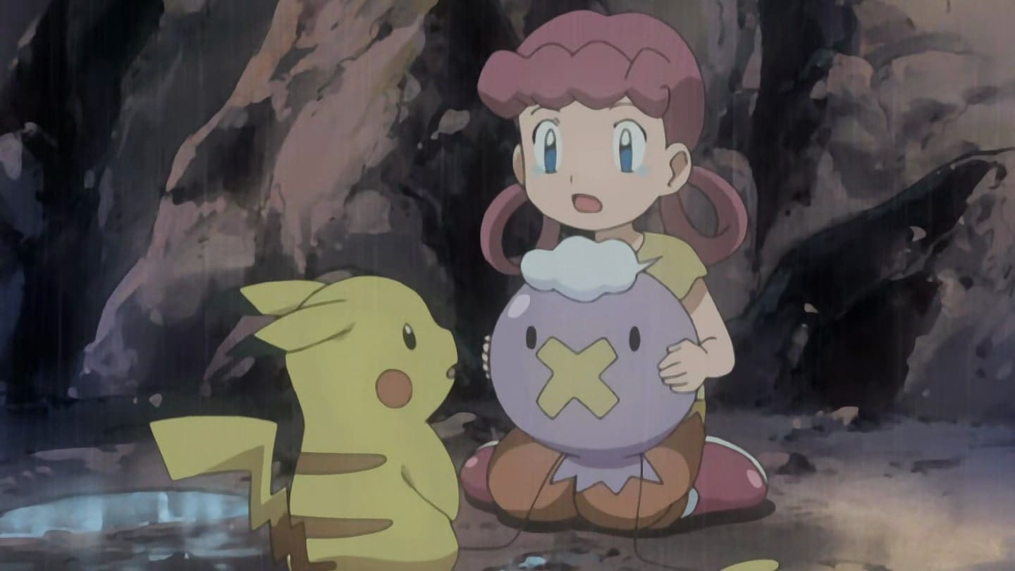 Pokémon Season 10 :Episode 28  Drifloon on the Wind!