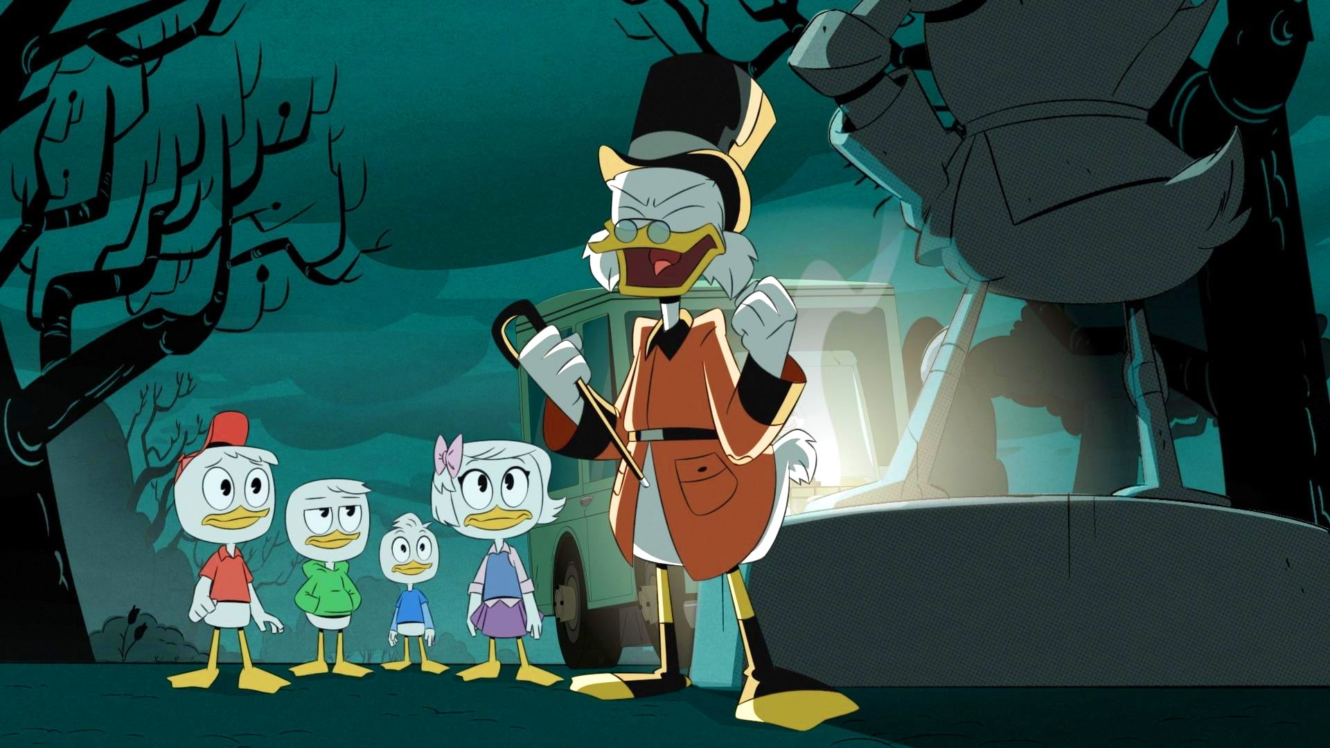 DuckTales Season 1 :Episode 21  The Secret(s) of Castle McDuck!