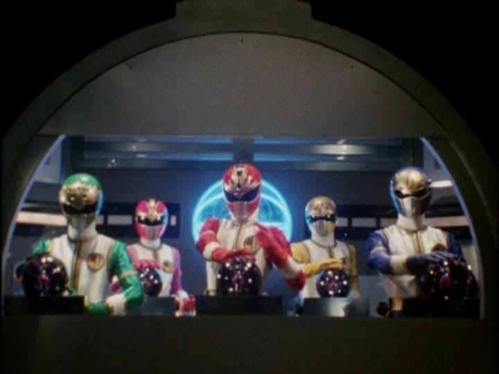 Super Sentai Season 17 :Episode 2  It's Ch'i Power!!