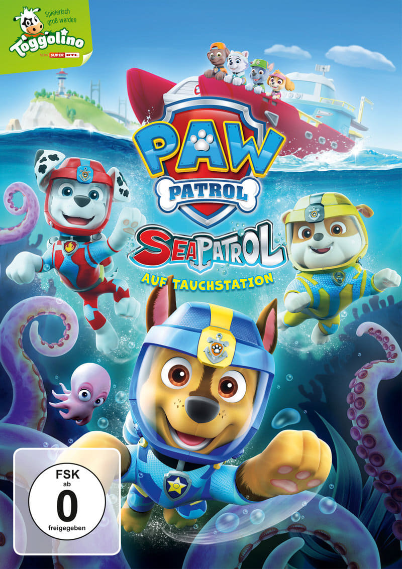 Paw Patrol: Sea Patrol - Pups Save The Diving Bell (1970)
