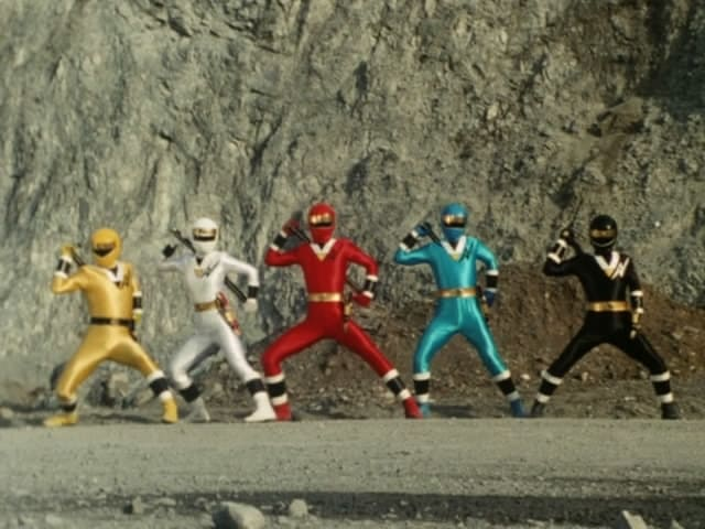 Super Sentai Season 18 :Episode 3  American Ninja