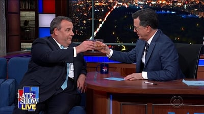 The Late Show with Stephen Colbert Season 5 :Episode 92  Chris Christie / Nathaniel Rateliff