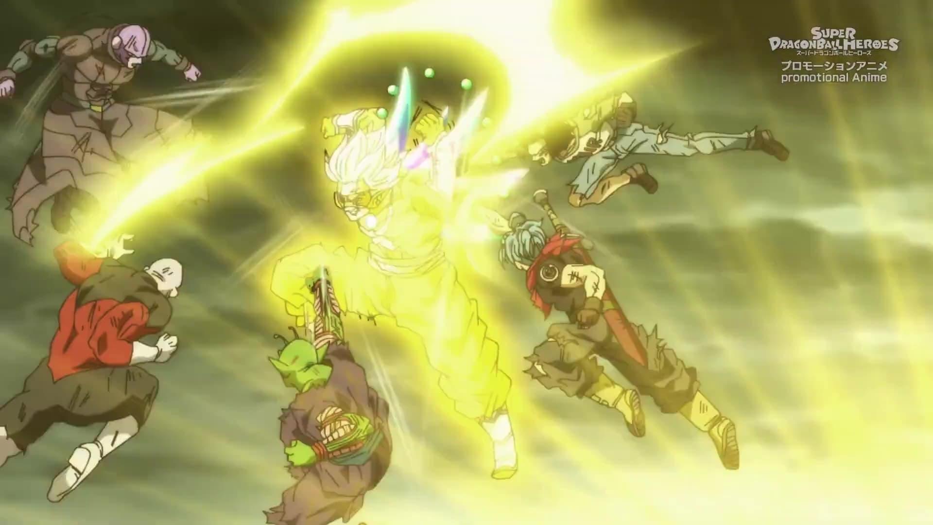 Super Dragon Ball Heroes Season 2 :Episode 11  The Ultimate Godslayer! Hearts is Born!