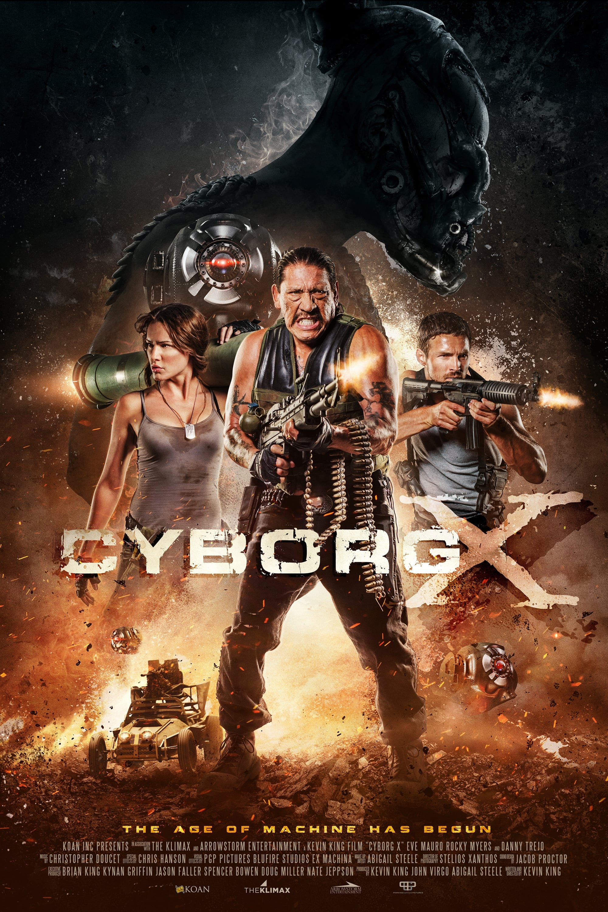 Baixar Cyborg X (2018) Dublado via Torrent