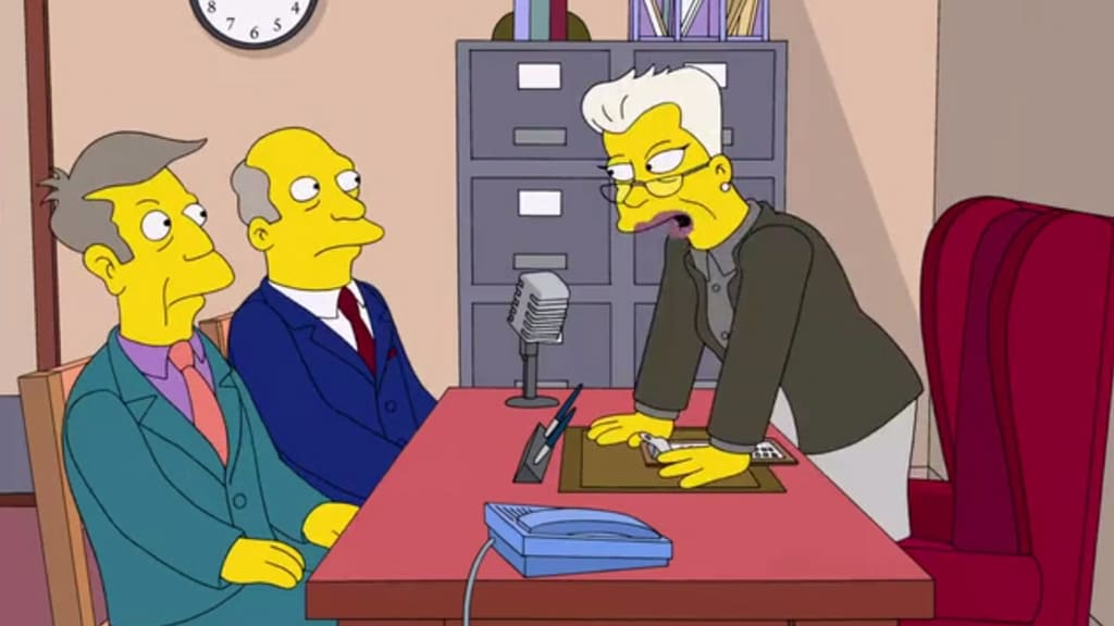 The Simpsons Season 24 :Episode 10  A Test Before Trying