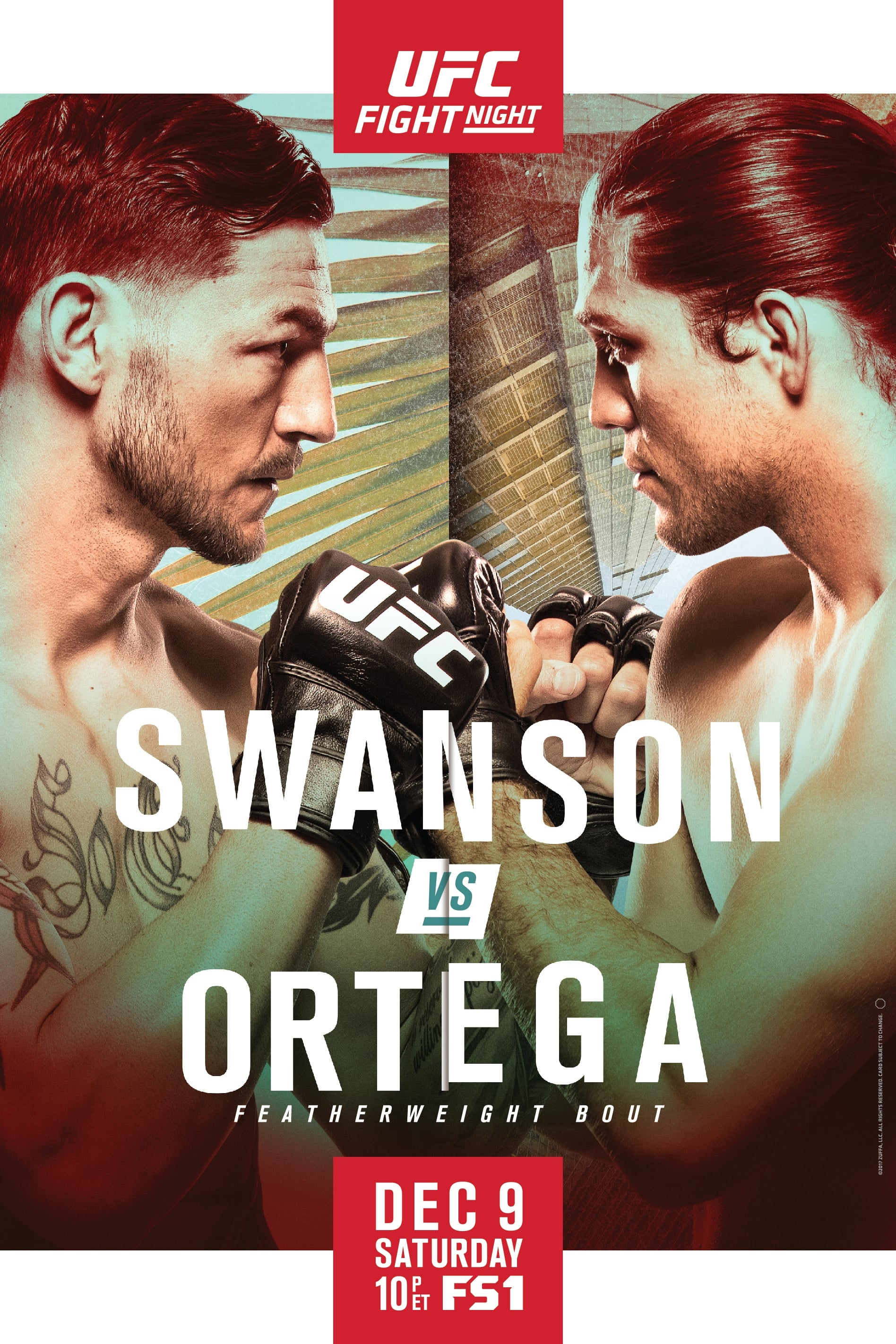 Ver UFC Fight Night 123: Swanson vs. Ortega Online HD Español ()