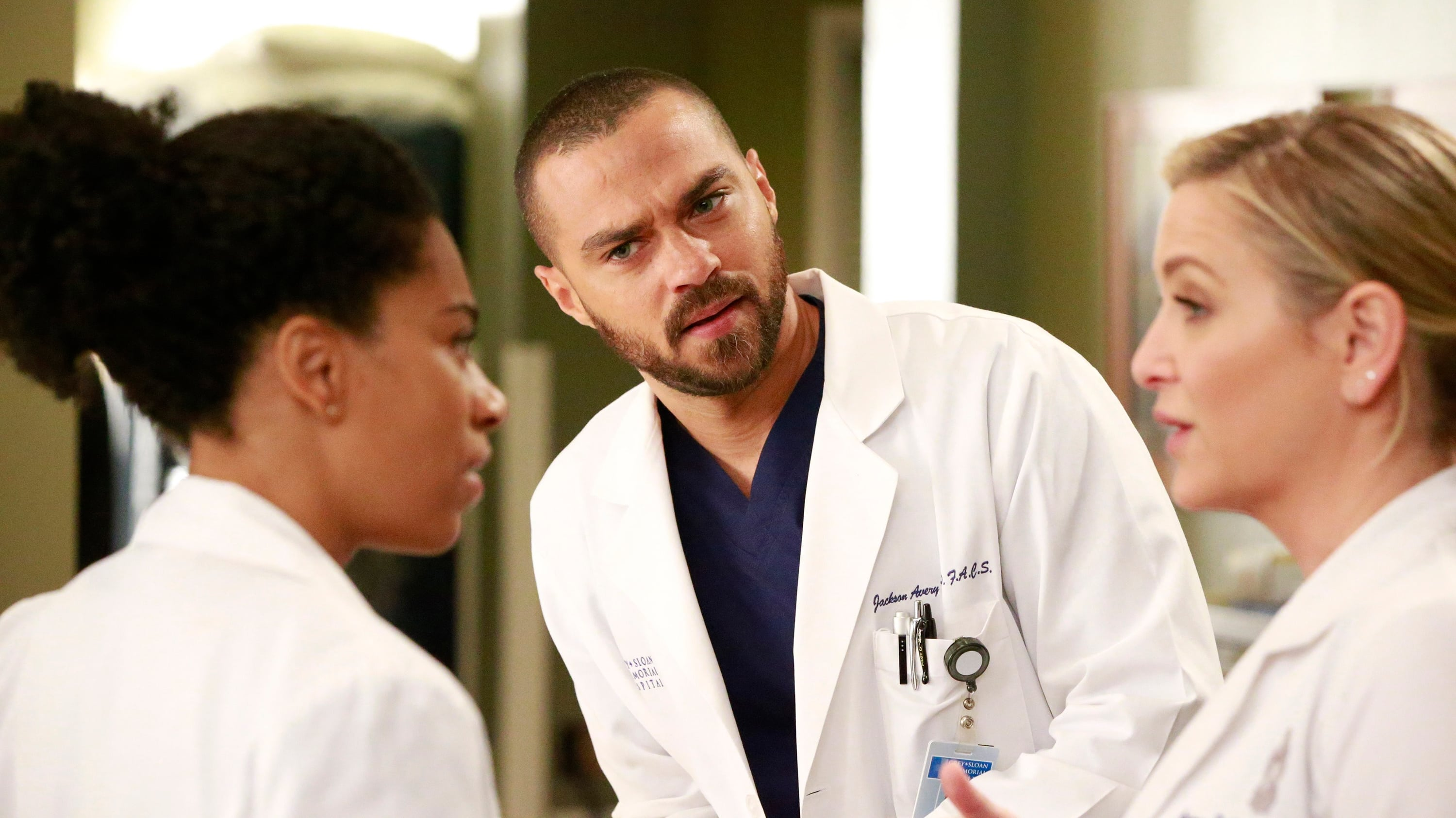 Grey's Anatomy Season 13 :Episode 12  None of Your Business