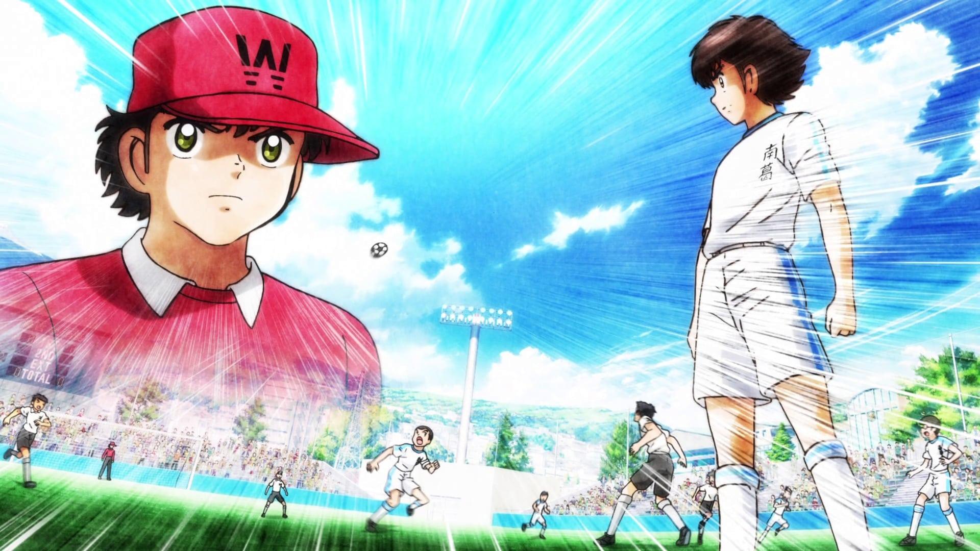 Captain Tsubasa Kick Off Nankatsu Vs Shuutetsu 2018 Backdrops