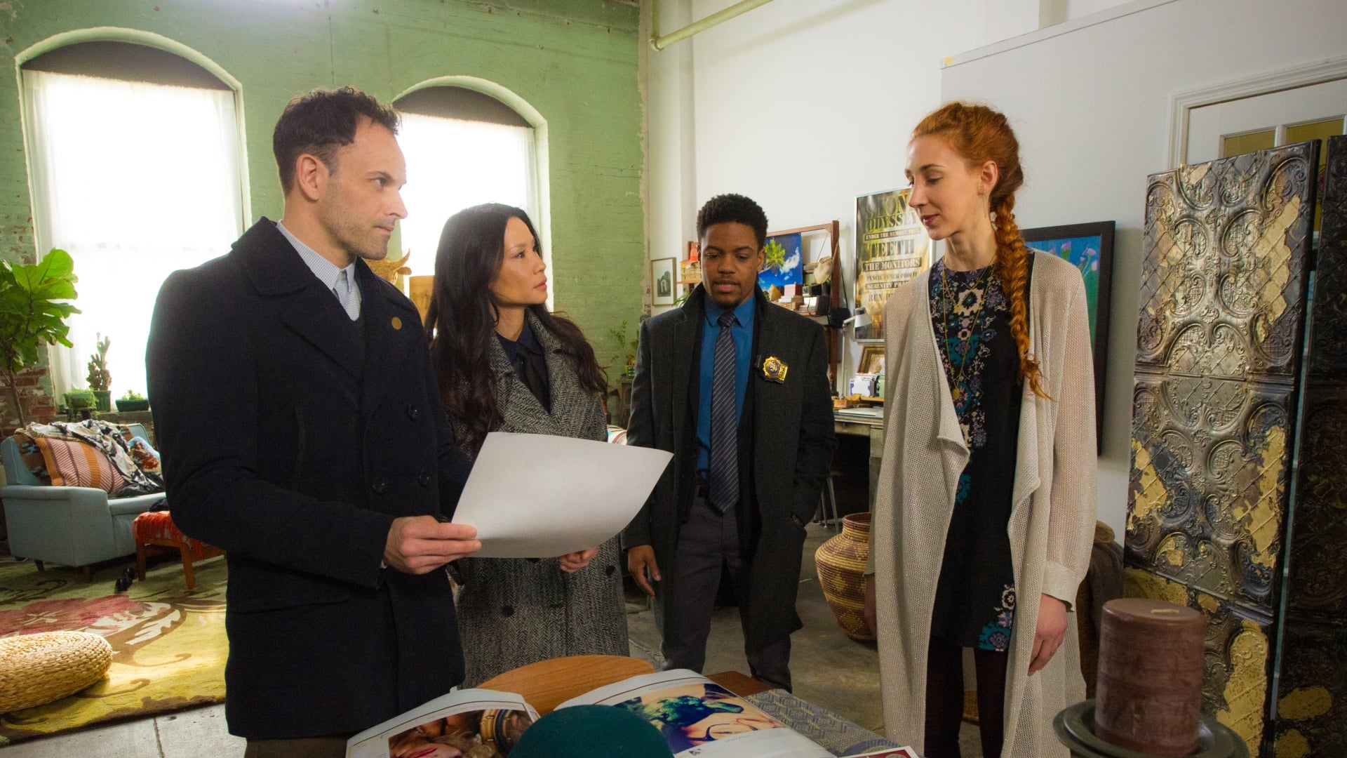 Elementary Season 4 :Episode 20  Art Imitates Art
