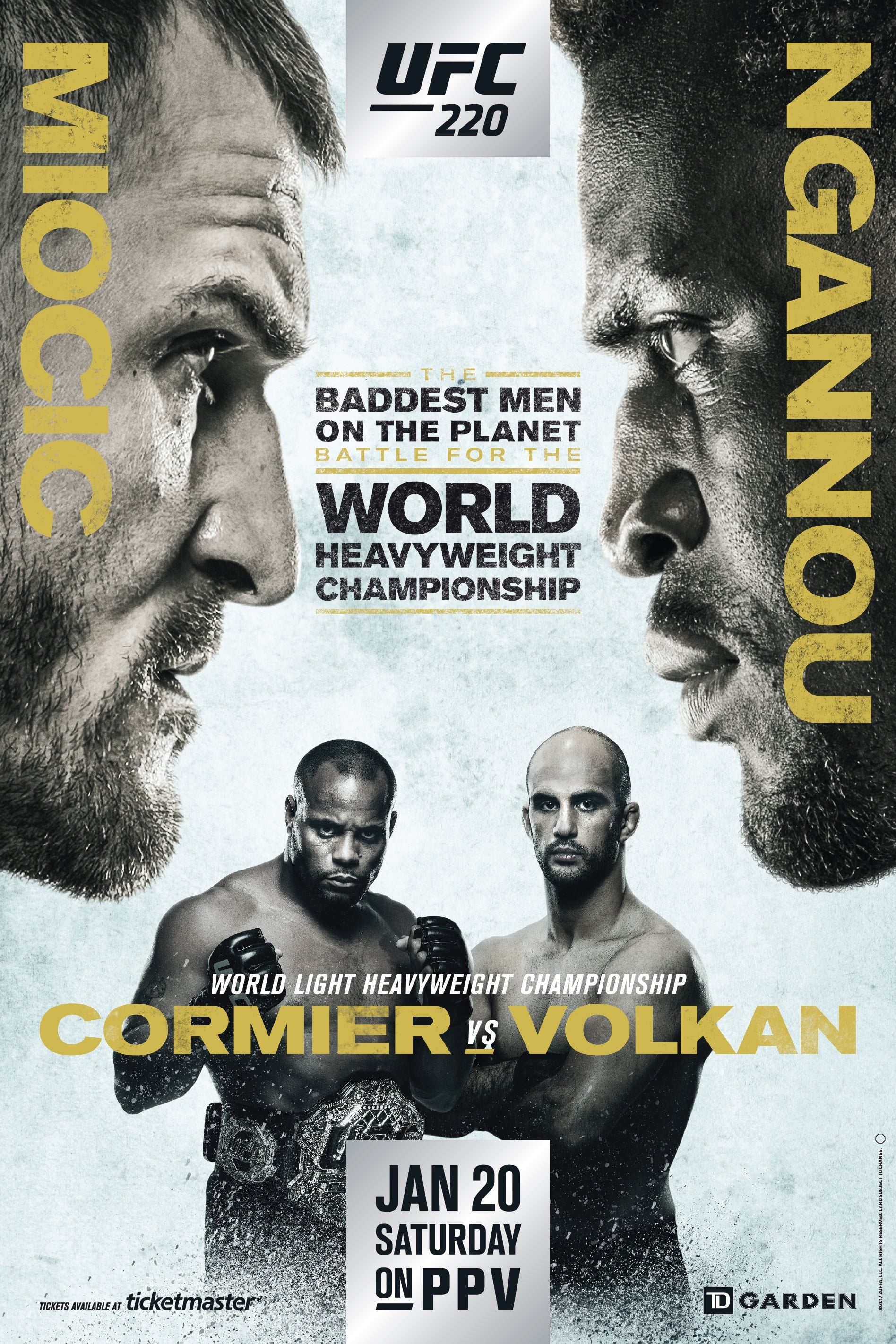 Ver UFC 220: Miocic vs. Ngannou Online HD Español ()