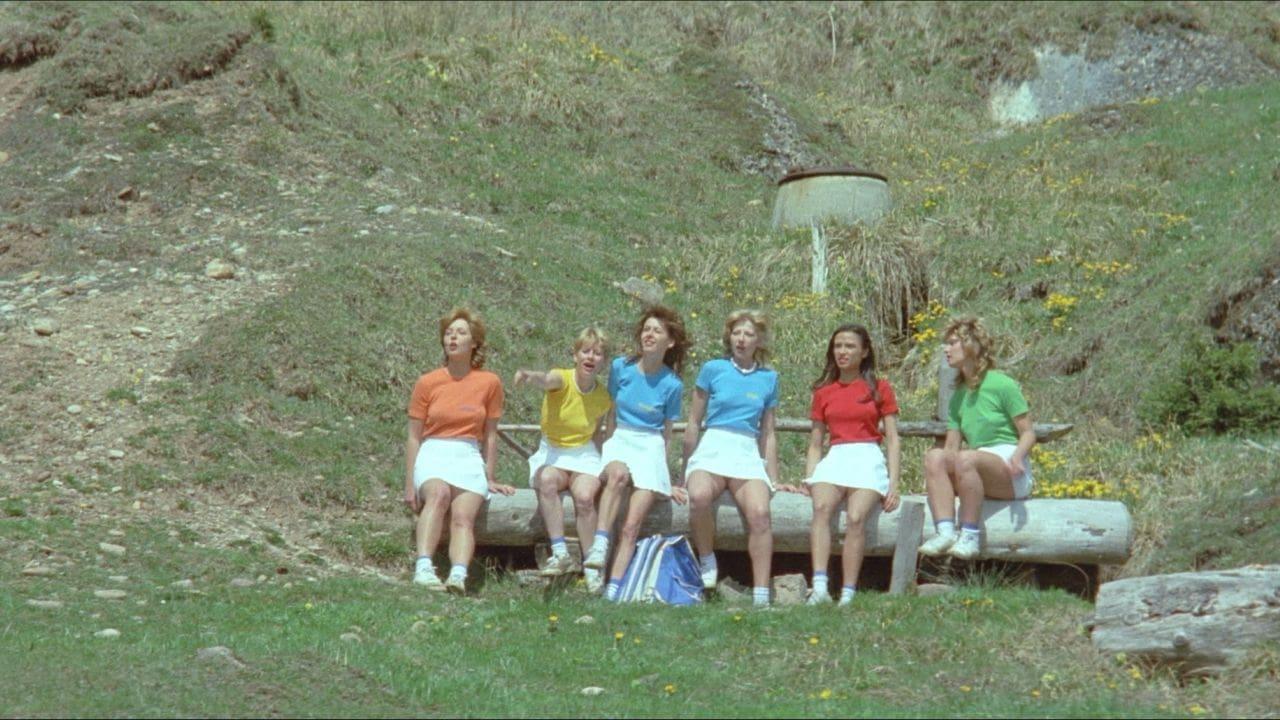 Sechs schwedinnen auf der alm 1983