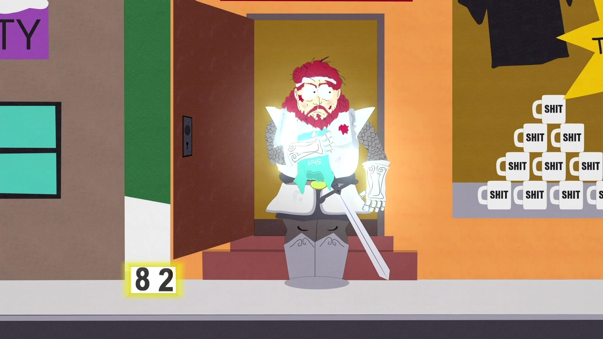 South Park Season 5 :Episode 1  It Hits the Fan