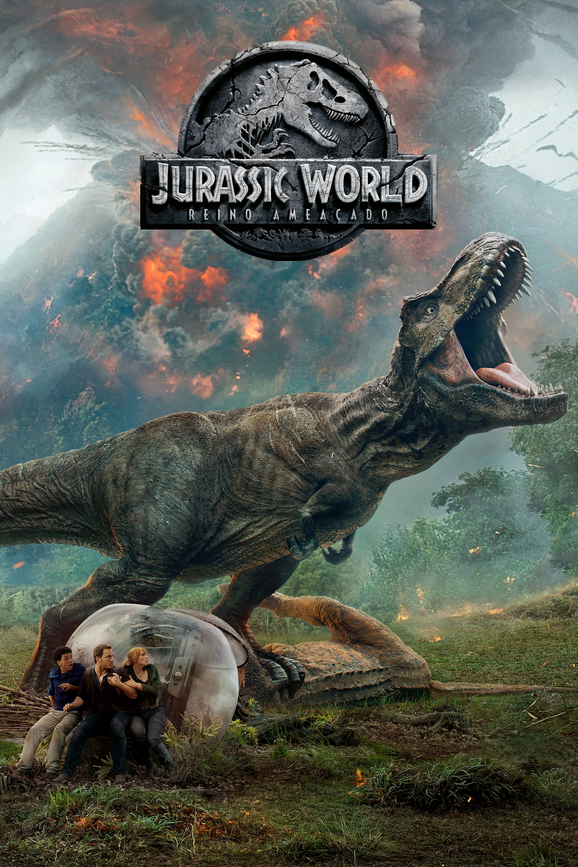 Jurassic World 2: Reino Ameaçado – Legendado (2018)