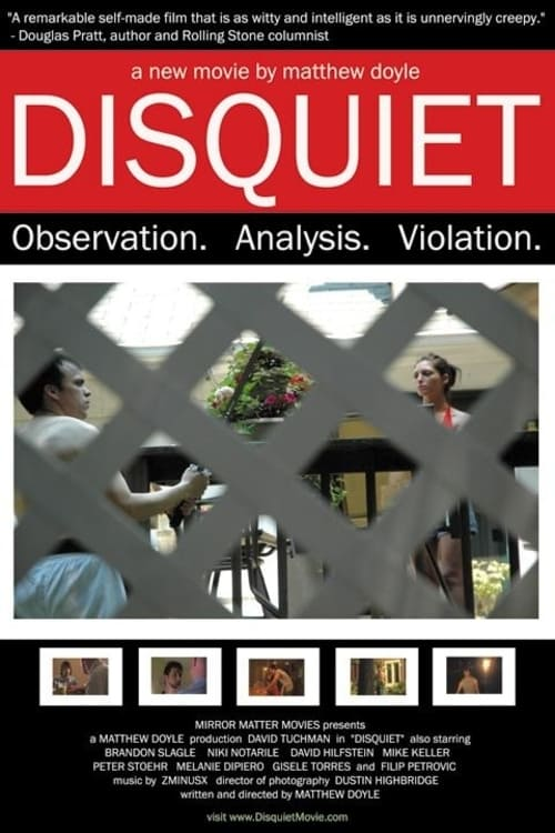 Ver The Disquiet Online HD Español (2006)