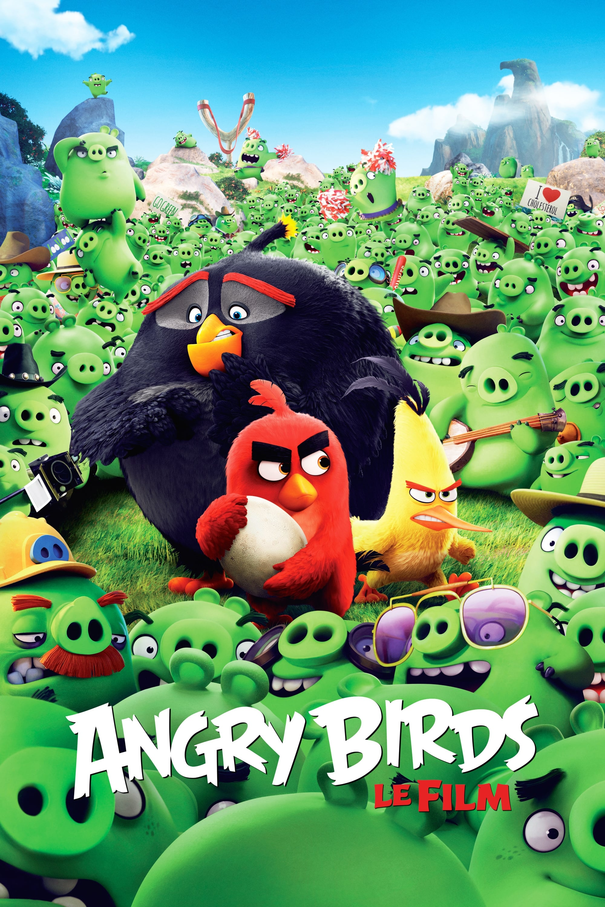 The Angry Birds Movie (2016) - Posters — The Movie ...