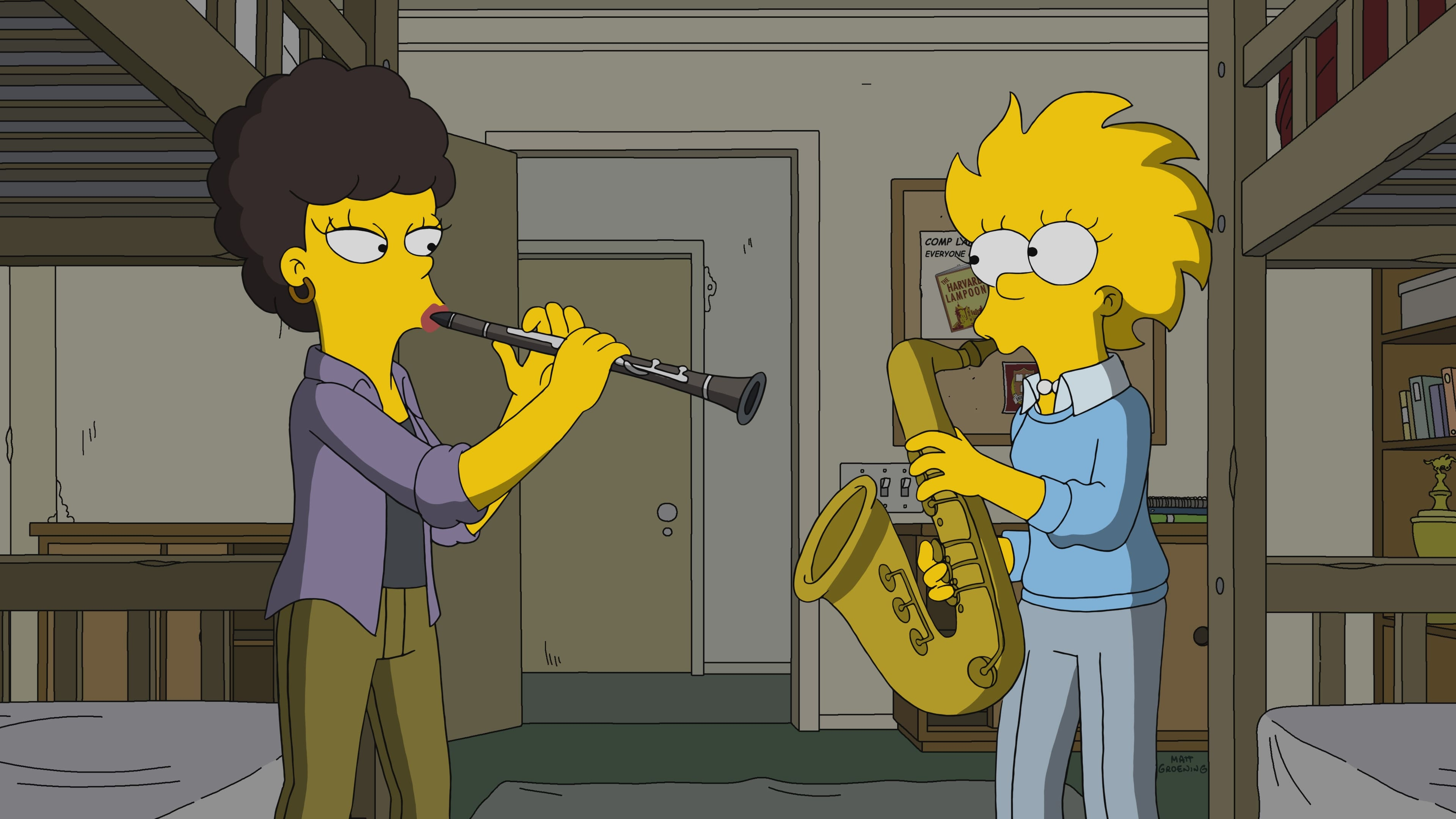 The Simpsons Season 29 :Episode 8  Mr. Lisa's Opus