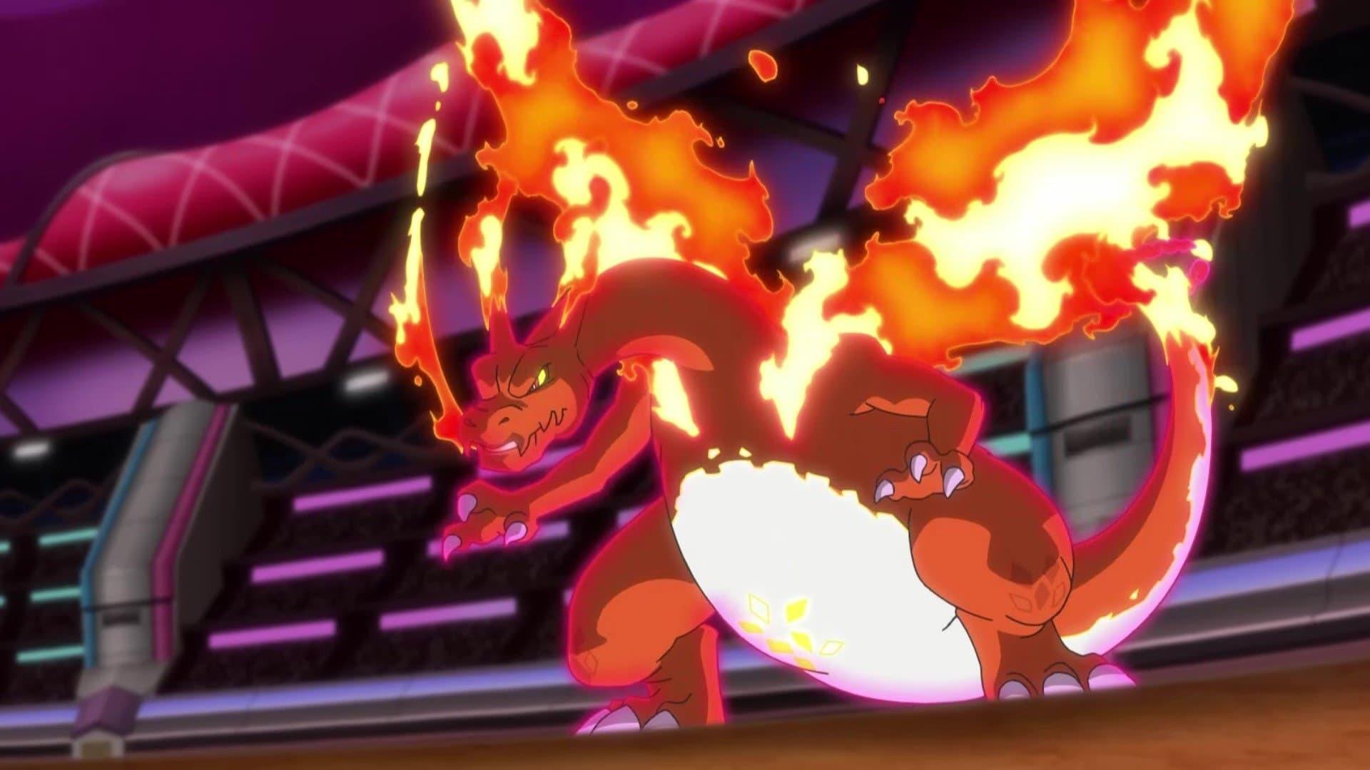 Pokémon Season 23 :Episode 27  Legends of Heroes! Dande's Strongest Battle!!