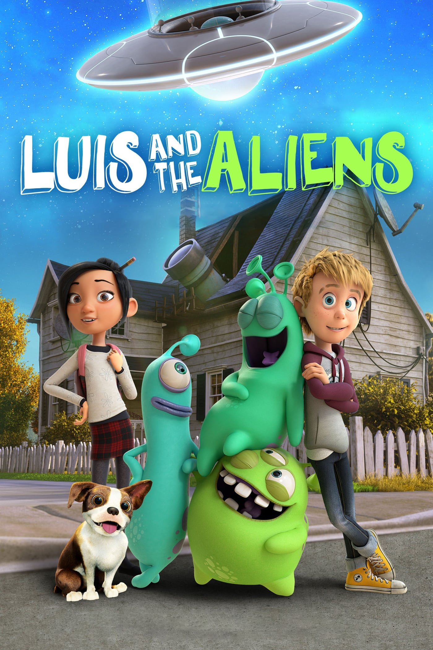 Léo Et Les Extra-Terrestres - Luis And The Aliens - 2018Film streaming gratuit (free)