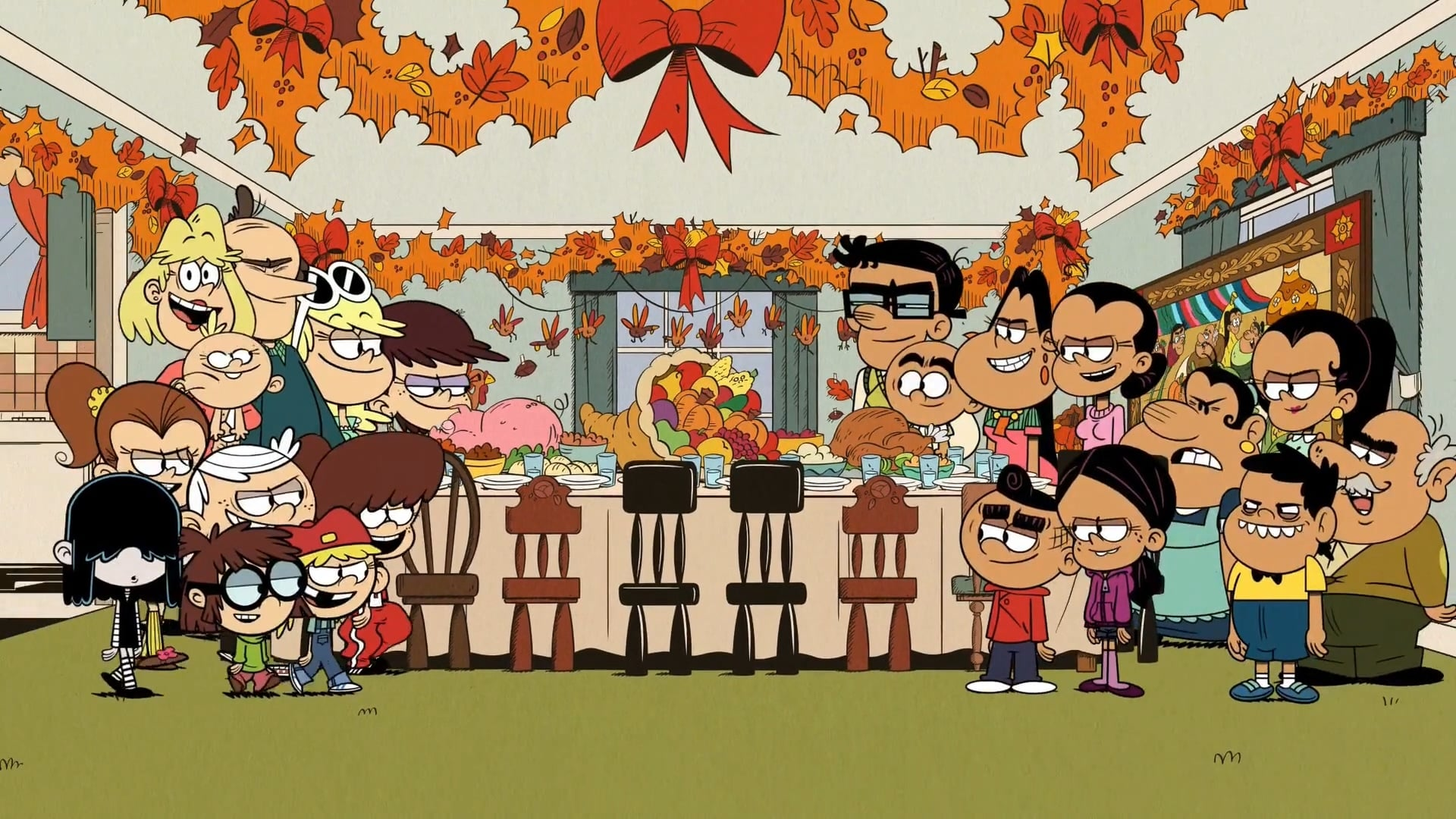 The Loud House Season 3 :Episode 38  The Loudest Thanksgiving