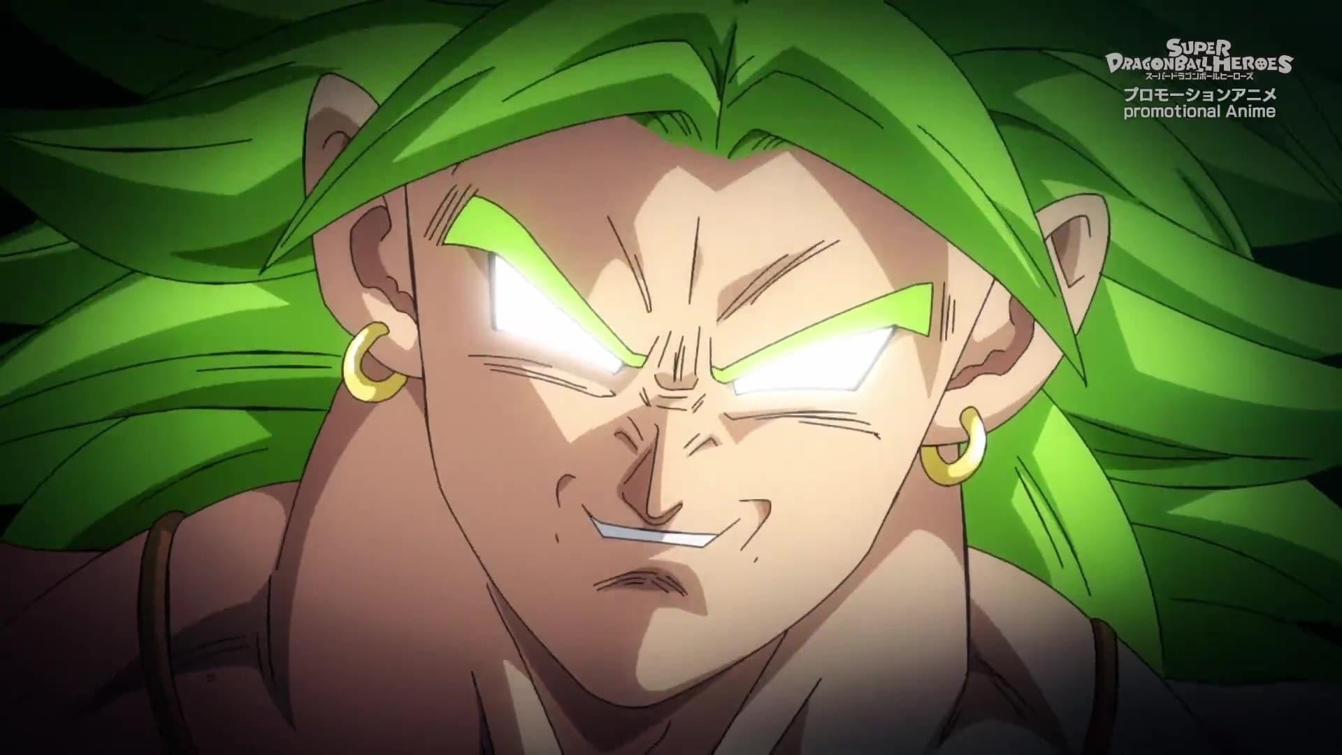 Super Dragon Ball Heroes Season 3 :Episode 10  Limit Breaking Evil! Broly's Return!
