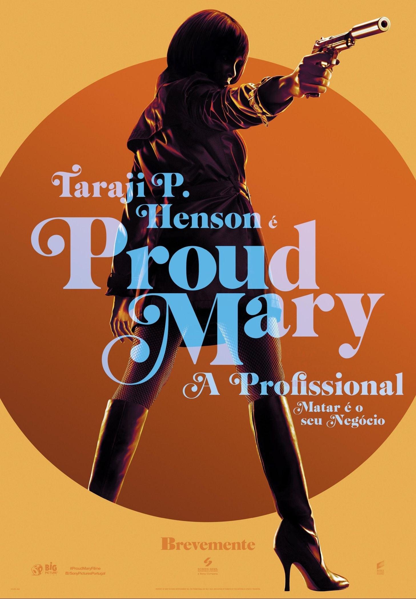 Proud Mary - A Profissional Dublado