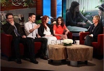 The Ellen DeGeneres Show Season 9 :Episode 8  Joseph Gordon-Levitt & Seth Rogen, Bryce Dallas Howard & Anna Kendrick, Maroon 5