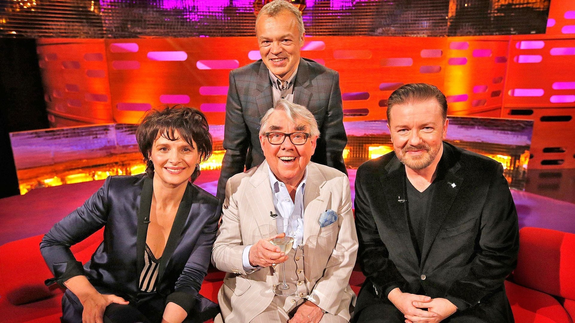 The Graham Norton Show Season 15 :Episode 3  Ricky Gervais, Ronnie Corbett, Juliette Binoche, Imelda May