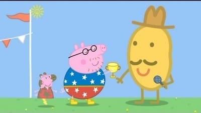 Peppa Pig Season 3 :Episode 41  Champion Daddy Pig