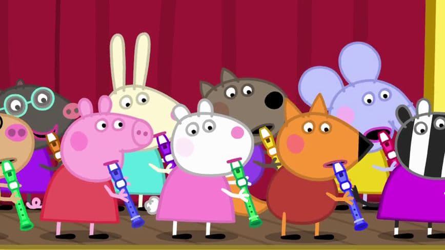 Peppa Pig Season 6 :Episode 4  Recorders