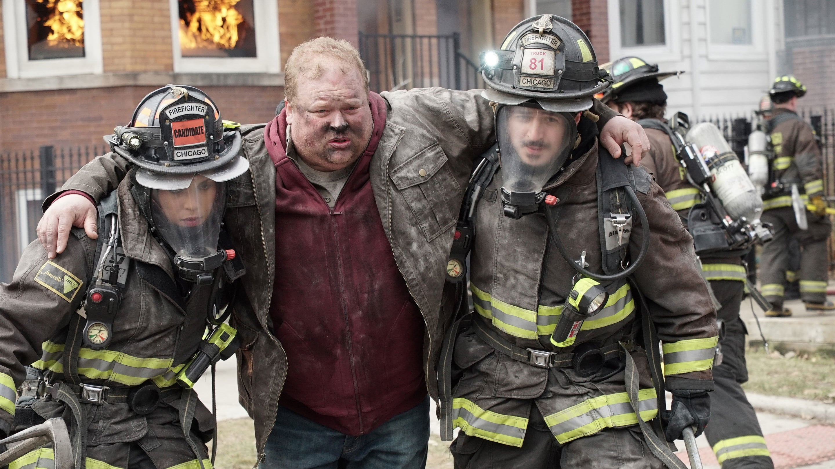 Chicago Fire Season 3 :Episode 21  Kühler Empfang
