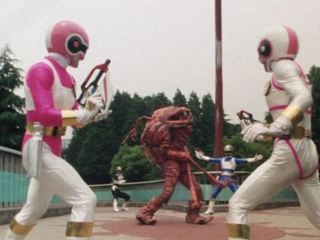 Super Sentai Season 9 :Episode 24  Gyodai Runs Away