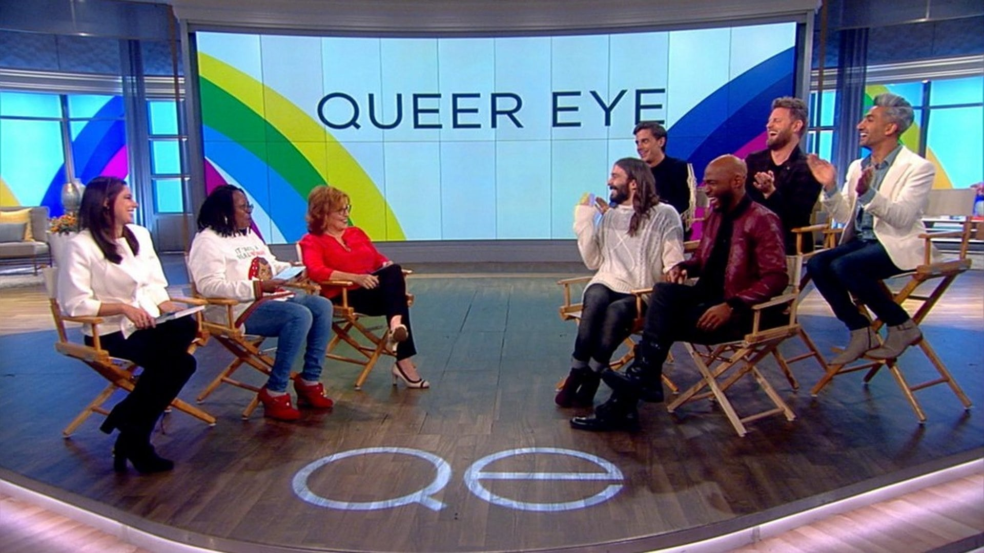 The View Season 22 :Episode 59  Queer Eye's Fab 5