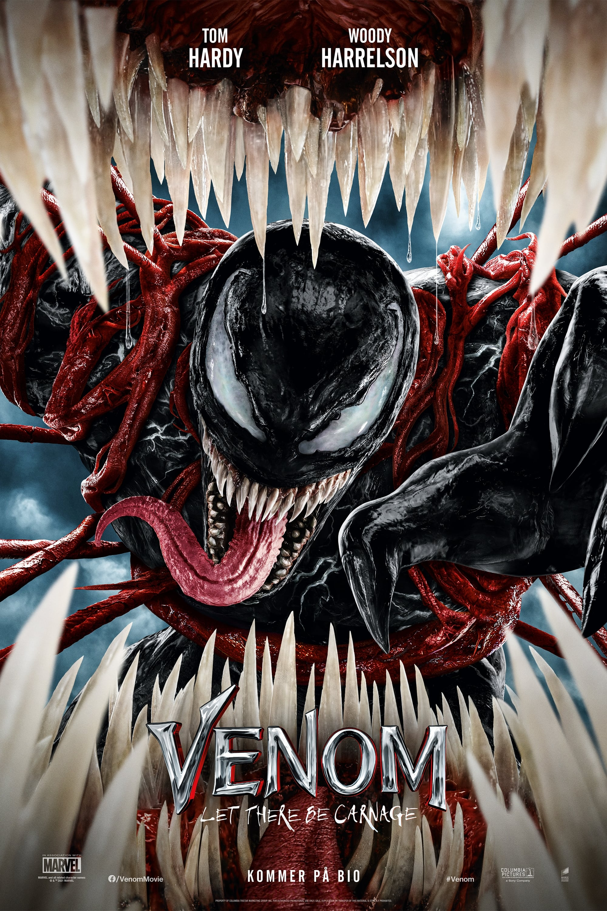 Poster and image movie Venom: Let There Be Carnage