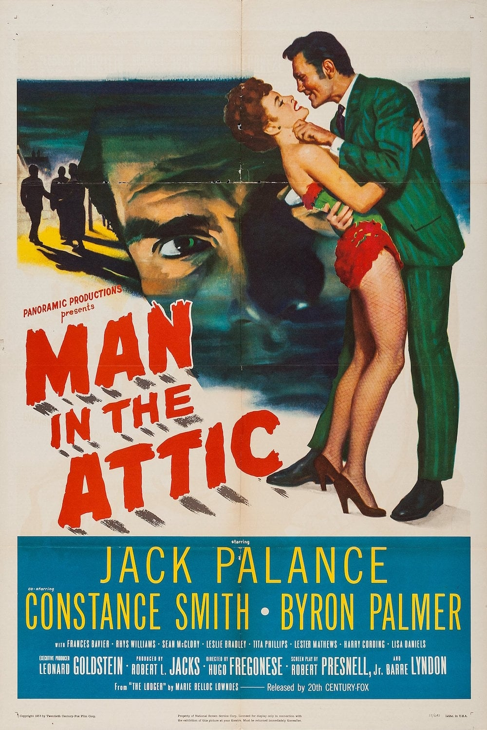 Man in the Attic on FREECABLE TV