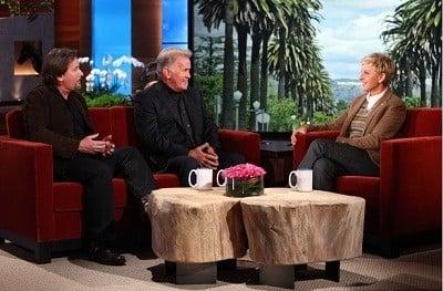 The Ellen DeGeneres Show Season 9 :Episode 27  Martin Sheen & Emilio Estevez, Connie Britton, Philip Galanes