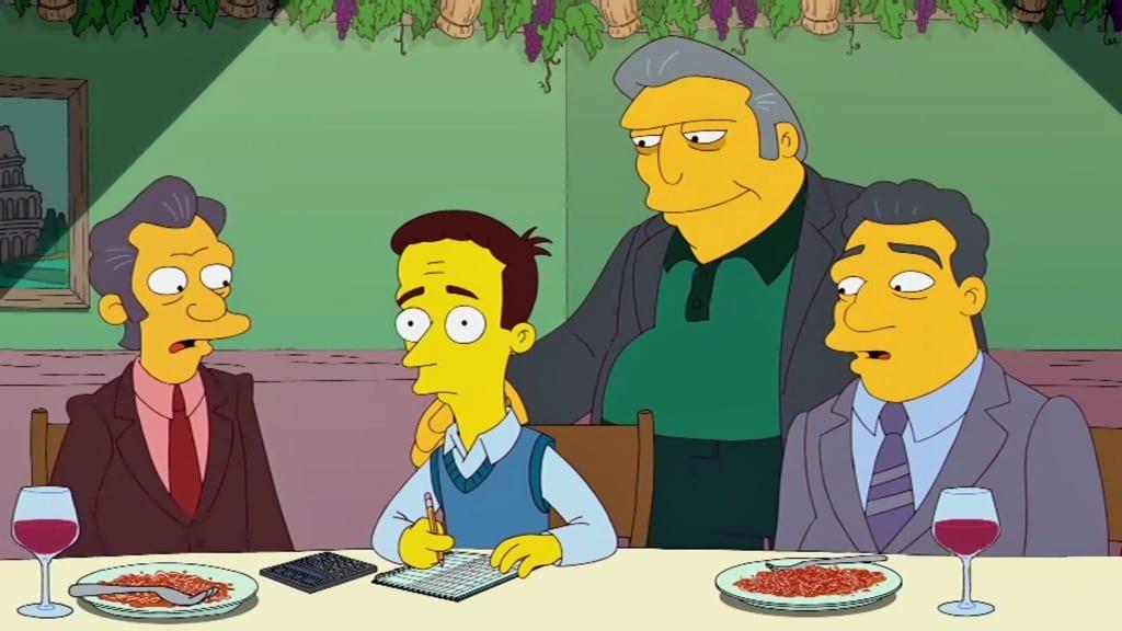 The Simpsons Season 24 :Episode 5  Penny-Wiseguys