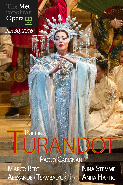 The Metropolitan Opera: Turandot (2016)