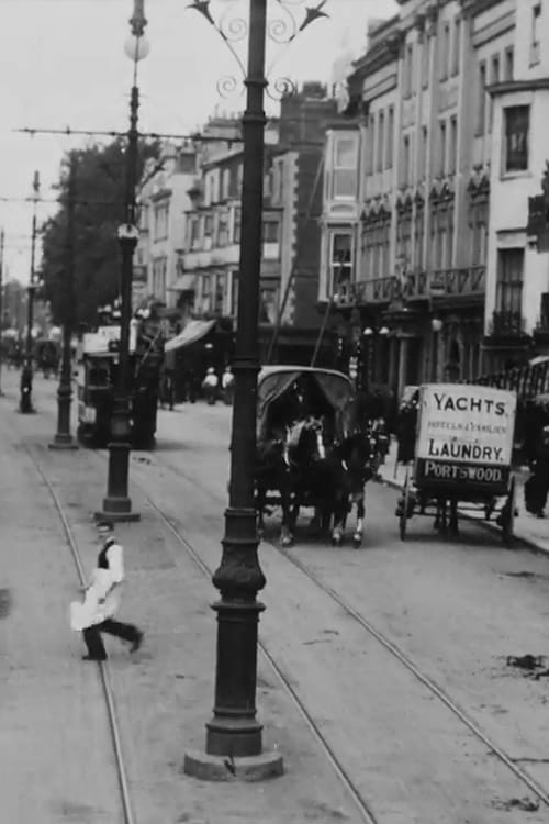 Tram Journey through Southampton (1900)