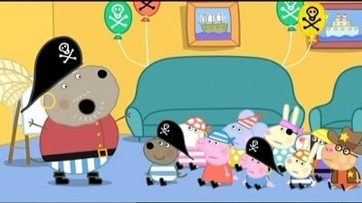 Peppa Pig Season 3 :Episode 16  Danny's Pirate Party