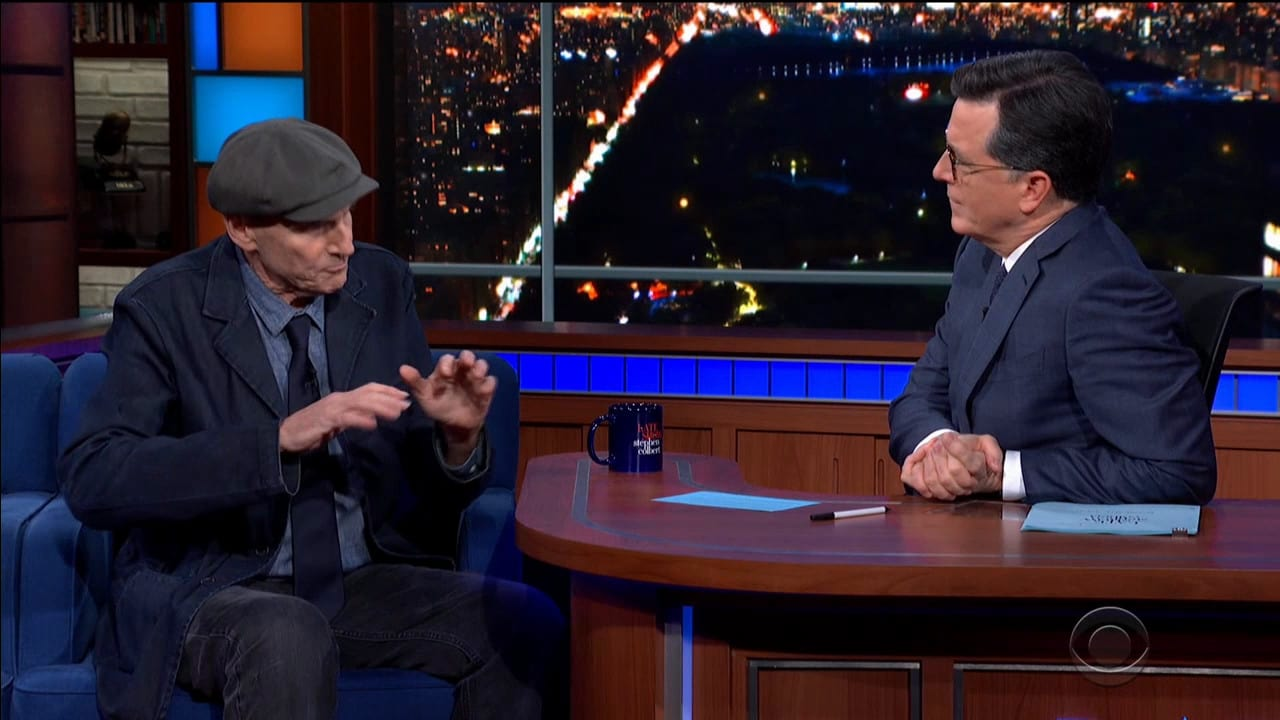 The Late Show with Stephen Colbert Season 5 :Episode 82  James Taylor / Rob McElhenney