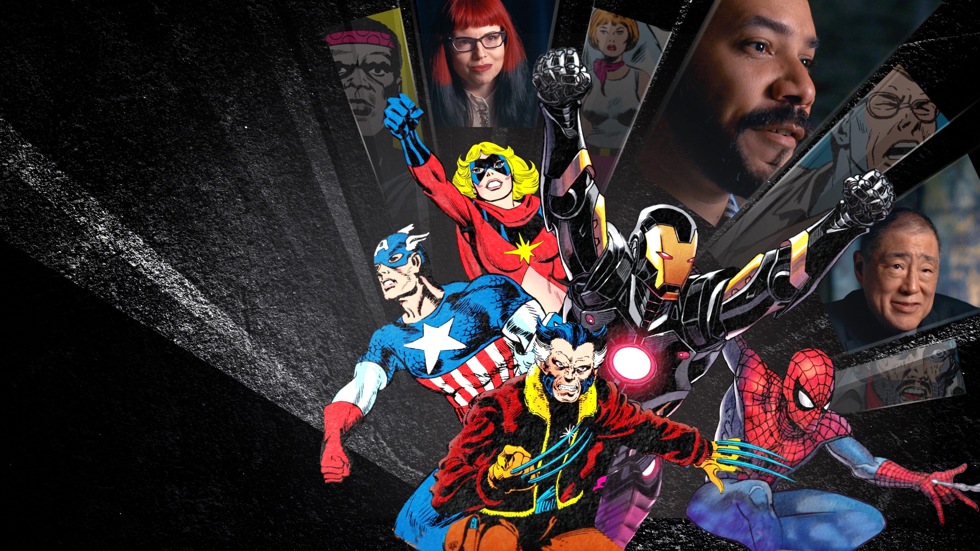Personagens da Marvel Comics e profissionais que trabalharam nos quadrinhos da editora