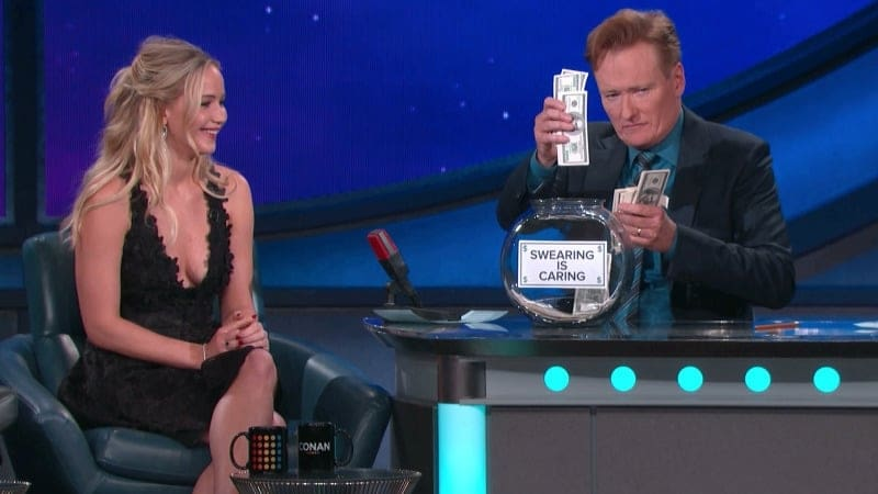 Conan at Comic Con - Jennifer Lawrence, Josh Hutcherson, Liam Hemsworth