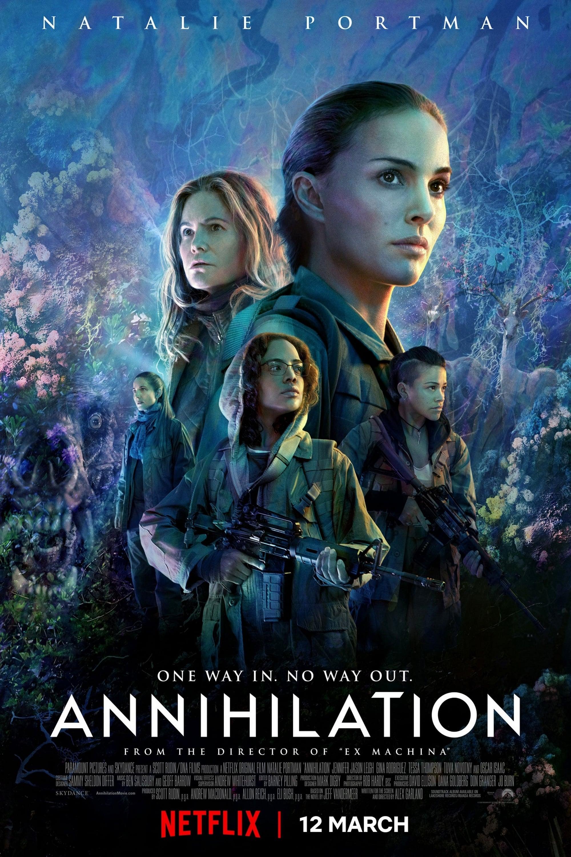 Resultado de imagen para فيلم annihilation 2018