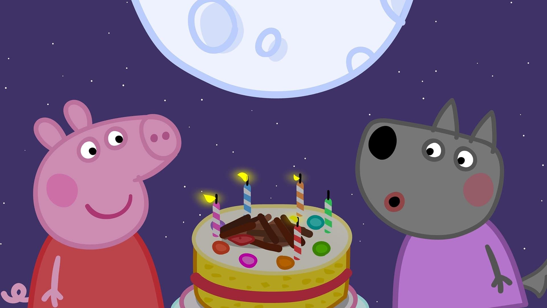 Peppa Pig Season 5 :Episode 27  Wendy Wolf's Birthday