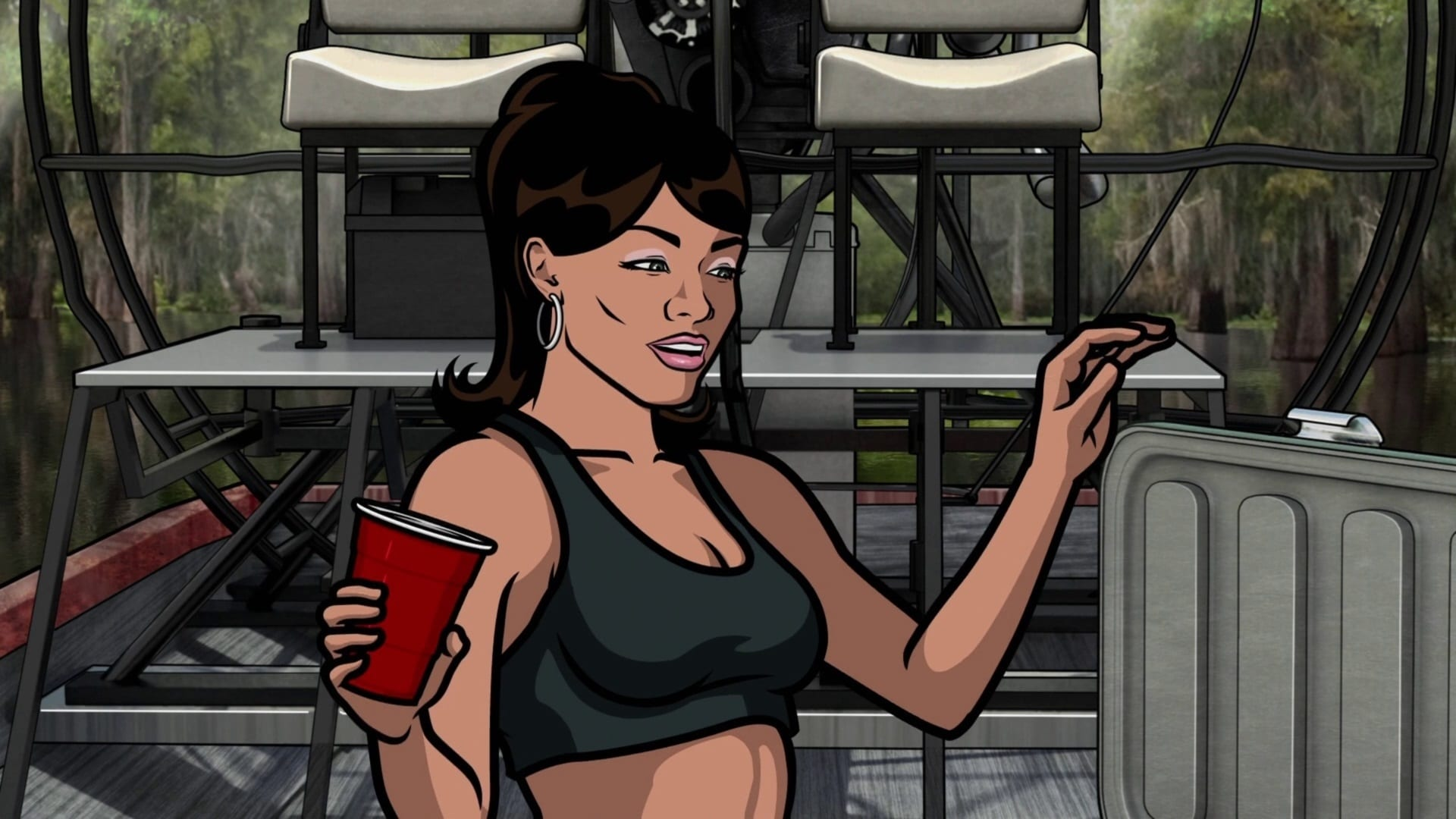 Archer Season 2 :Episode 4  Pipeline Fever