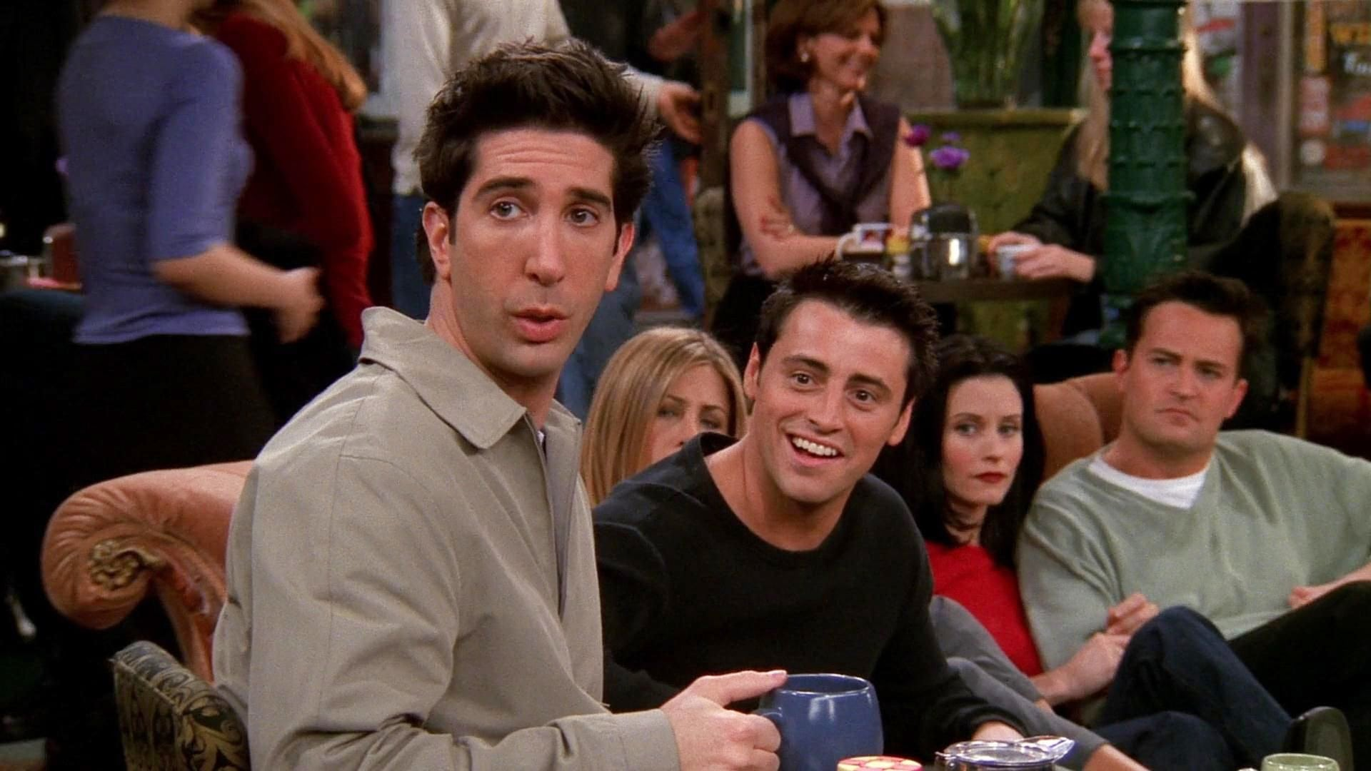 Friends Season 5 :Episode 20  The One with the Ride Along
